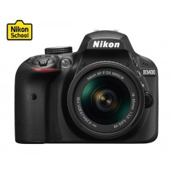 Nikon D3400 24.2MP DSLR Camera with 18-55mm Lens