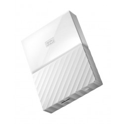 WD 4TB My Passport USB 3.0 External Hard Drive - White