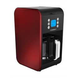 Morphy Richards Accents Pour Over Filter Coffee Maker (162009) - Red