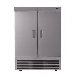 Wansa 34 Cft. Double Door Refrigerator (2DARS) - Stainless Steel