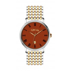 Jovial 5023-GTMQ-10 Gents Watch - Metal Strap