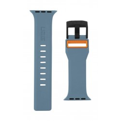UAG Civilian 44mm Strap for Apple Watch - Slate/Orange