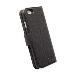 Krusell 2 in 1 Malmo Leather Flip Wallet Cover for iPhone 6 Plus - Black