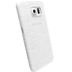 Krusell Transparent Protective Case for Galaxy S6 - White