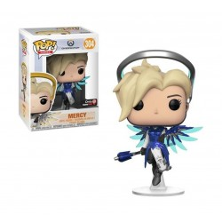 Funko Pop! Games: Overwatch Mercy Exclusive #304 - (Cobalt)