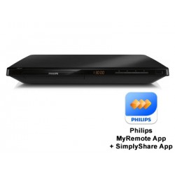 Philips 3D Blu-Ray Player BDP3480/05 - Black