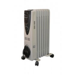 Bravo 1500W 7 Fins Oil Heater - AO-3001