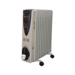 Bravo 2500W 11 Fins Oil Heater - AO-3002