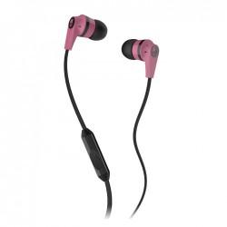 Skullcandy Ink'd 2 Earphones with Mic - Pink/Black