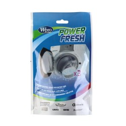 WPro AFR300 Powerfresh Washing Machine Cleaning Tabs