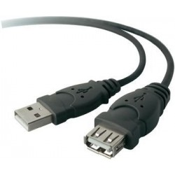 Belkin USB 2.0 Extension 6ft Cable (F3U153CP1.8M)