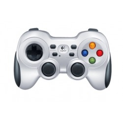 Logitech F710 Wireless Gaming Controller for PC - Silver