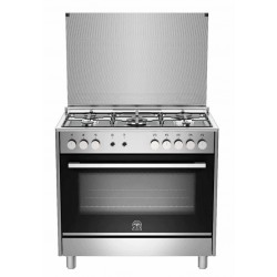 La Germania 90x60 Gas Cooker (TUS95C31DX) – Silver