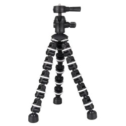 Bower ST107 Bendipod Flexible Camera Tripod - Black/White