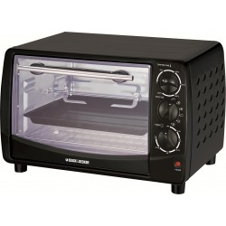 Black + Decker Oven 1500W - TRO50-B5