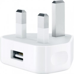 Apple MD812 3-Pin USB Power Adaper - White