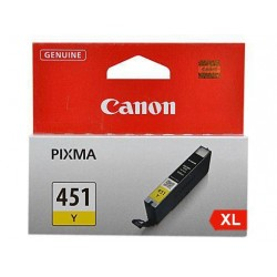 CANON Ink 451XLY for Inkjet Printing 680 Page Yield - Yellow (Single Colour Pack)