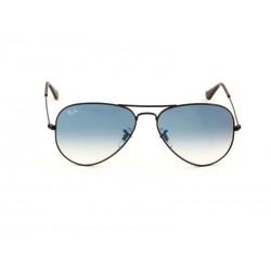 e87b8ec82fa Ray-Ban 3025 Aviator Sunglasses For Men   Women - Black Frames   Blue Lenses