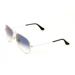 331a23a2d2a Ray-Ban 3025 Aviator Sunglasses For Men   Women - Silver Frames   Blue  Lenses