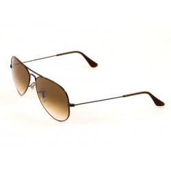 ced984ed524 Ray-Ban 3025 Aviator Sunglasses For Men   Women - Brown Frames   Brown  Lenses