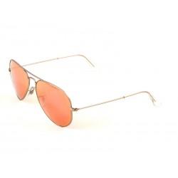 04f3f2d48c6 Ray-Ban 3025 Aviator Sunglasses For Men   Women - Silver Frames   Pink  Lenses