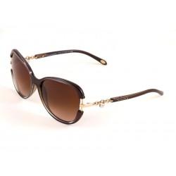 6ec6e5931e Tiffany   Co. 4067 Cat Eye Sunglasses For Women - Multicoloured Frames    Brown Lenses