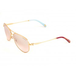 12169a47d3 Tiffany   Co. 3043h Aviator Sunglasses For Women - Gold Frames   Gold Lenses