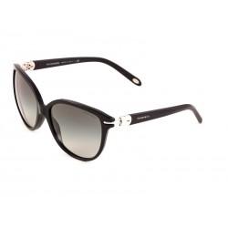 c45212b900 Tiffany   Co. 4064b Round Sunglasses For Women - Black Frames   Black Lenses