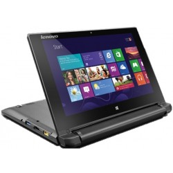 Lenovo Flex 10 Intel Celeron 2GB RAM 500GB HDD 10.1-inch Convertible Touchscreen Laptop - Black