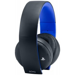 PlayStation Gold Wireless Stereo Headset for PlayStation 4 - Black