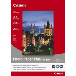Canon SG-201 Photo Paper Plus Semi-Gloss -20 papers