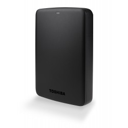 Toshiba Canvio Basic 1TB USB3 External Hard Drive - Black