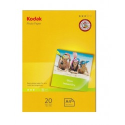 Kodak 36011 A4 Glossy Photo Paper 20 Sheets