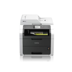 Brother MFC-9330CDW Wireless High Speed Color All-in-One Printer - White