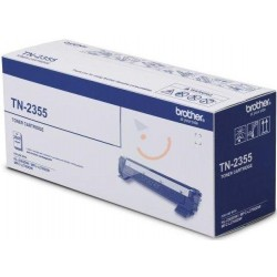 BROTHER Toner TN2355B for LaserJet Printing 2600 Page Yield - Black (Single Colour Pack)