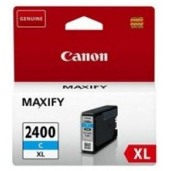 CANON Ink 2400XLC for Inkjet Printing 1500 Page Yield - Cyan (Single Colour Pack)