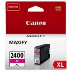 CANON Ink 2400XLM for Inkjet Printing 1500 Page Yield - Magenta (Single Colour Pack)