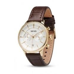Borelli Quartz 42mm Chronograph Gent's Leather Watch - 20047674
