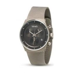 Borelli Quartz 40mm Chronograph Gent's Metal Watch - 20050056