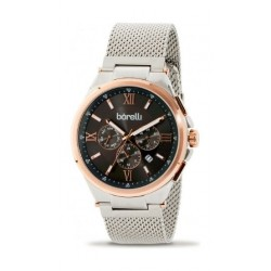 Borelli Quartz 39mm Chronograph Gent's Metal Watch - 20050681