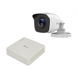 HiLook 2CH 2MP Surveillance Camera Kit (HLNH-202) - White