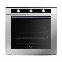 Whirlpool 60cm 73L Built in Electric Oven (AKPM 6580/IXL) – Black / Stainless Steel