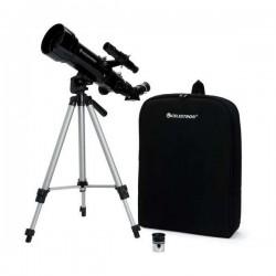 Celestron Travel Scope 70mm Refractor Telescope Kit (21035)