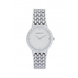 Jean Bellecour 32mm Analog Ladies Metal Watch (REDS21) - Silver