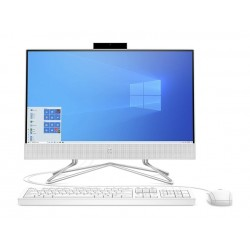 "HP 22-DF0000NE Intel Core i3 10th Gen. 4GB RAM 1TB HDD 21.5"" All-in-One Desktop - White"