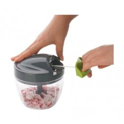 Nutricook 650 ml Quick Pull Chopper - Clear