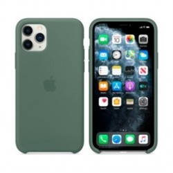 Apple Silicone Case for iPhone 11 Pro - Pine Green