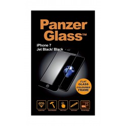 Panzer Glass Screen Protector For iPhone 7 (2610) - Black