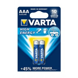 Varta 2 Pcs AAA Alkaline Battery