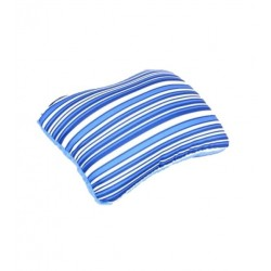 American Tourister 2-way Travel Pillows - Blue Stripes